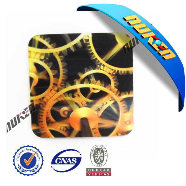 Eco-Friendly Lenticular Coaster with EVA Base