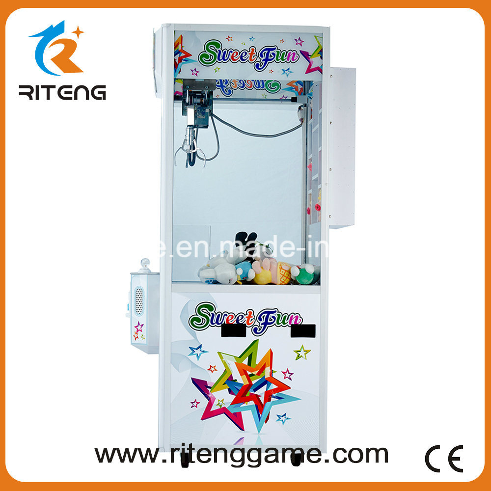 Key Master Push Arcade Gift Crane Claw Machine for Sale