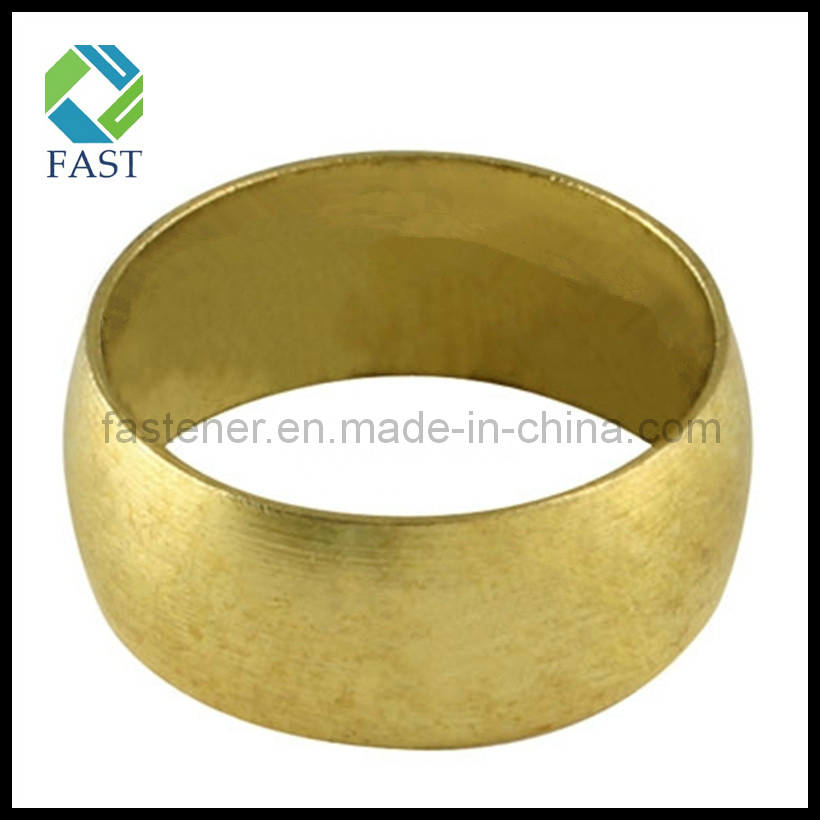 China brass fitting fuel pipe olive compression ring