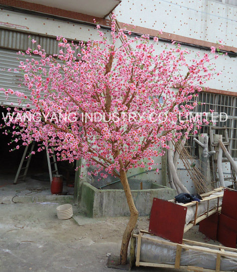 Factory Sale Nature Wood Trunk Cherry Blossom Tree