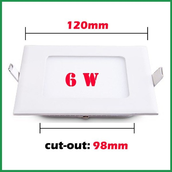 6W Surface Mounted LED Ceiling Panel Lights