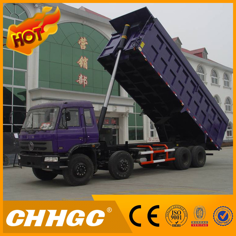 Top Brand 4axle Tipper Front Lifting Dump Truck