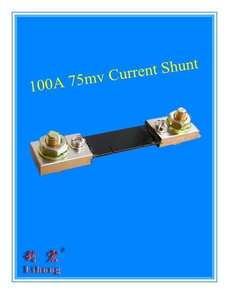 100A 75mv Current Shunt, FL-2 DC Shunt for Ammeter