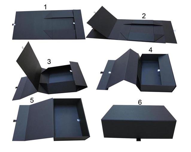 Custom Made Box with Ribbon