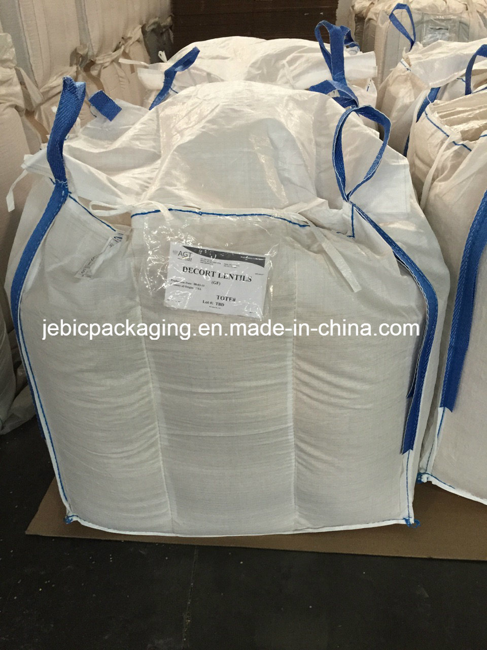 Side Loop Seams FIBC Baffle Bulk Bag
