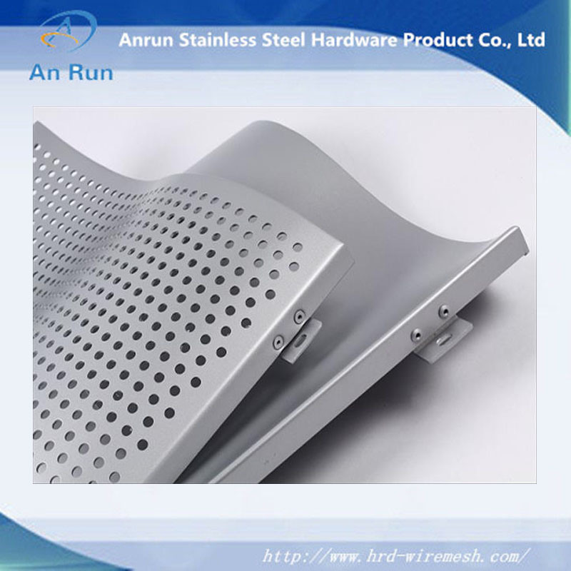 Perforated Metal for Wall Decoration