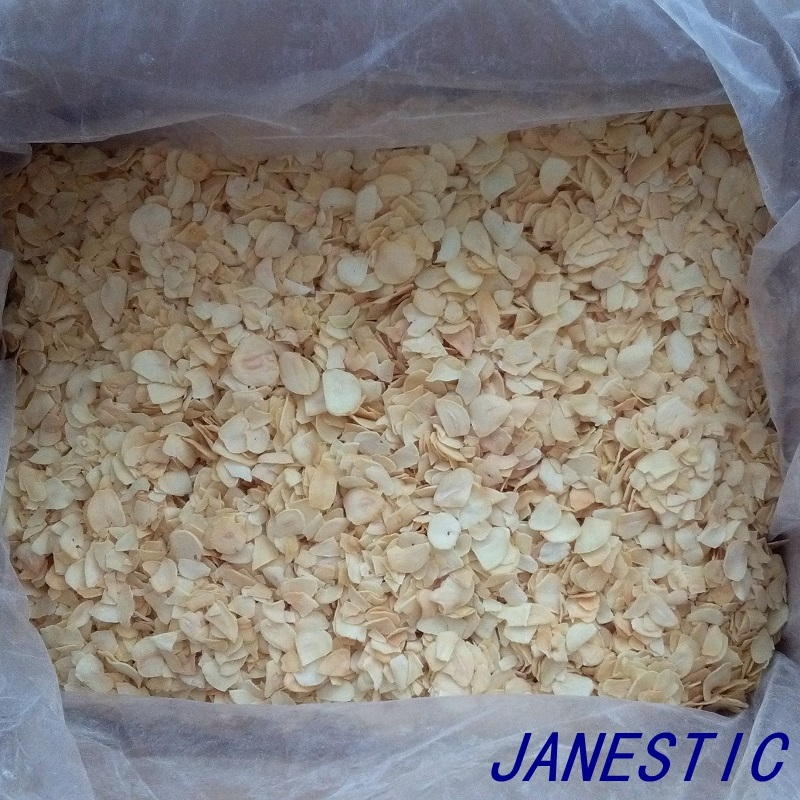 Dehydrated Garlic Flakes Without Roots