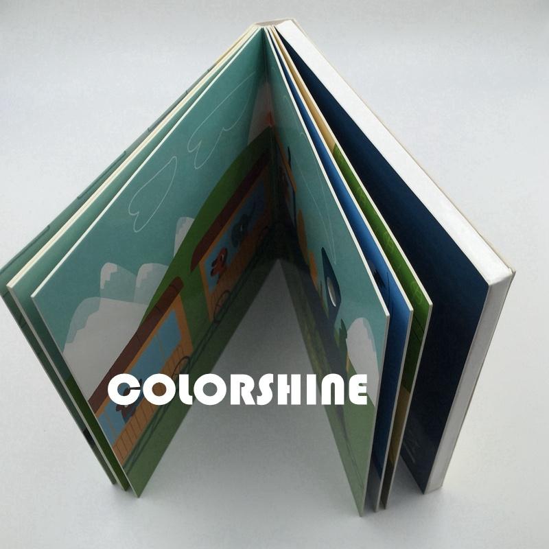 Colorful Child Speaking Sound Board Book