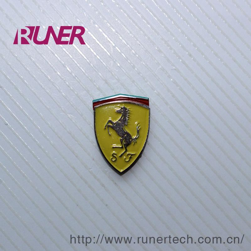 Electroform Nickel Logo Sticker for Auto Industry