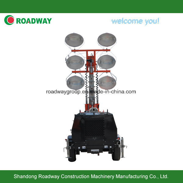Hydraulic Lift Lighting Tower