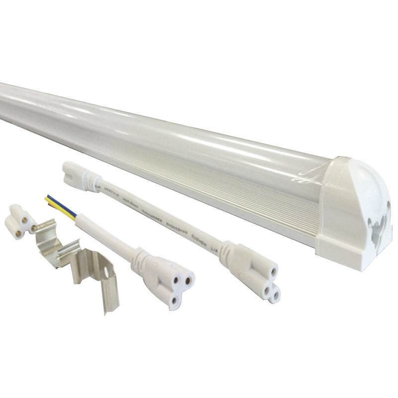 18W 100lm/W 1200mm 1800lm Aluminum Integrated T8 LED Tube