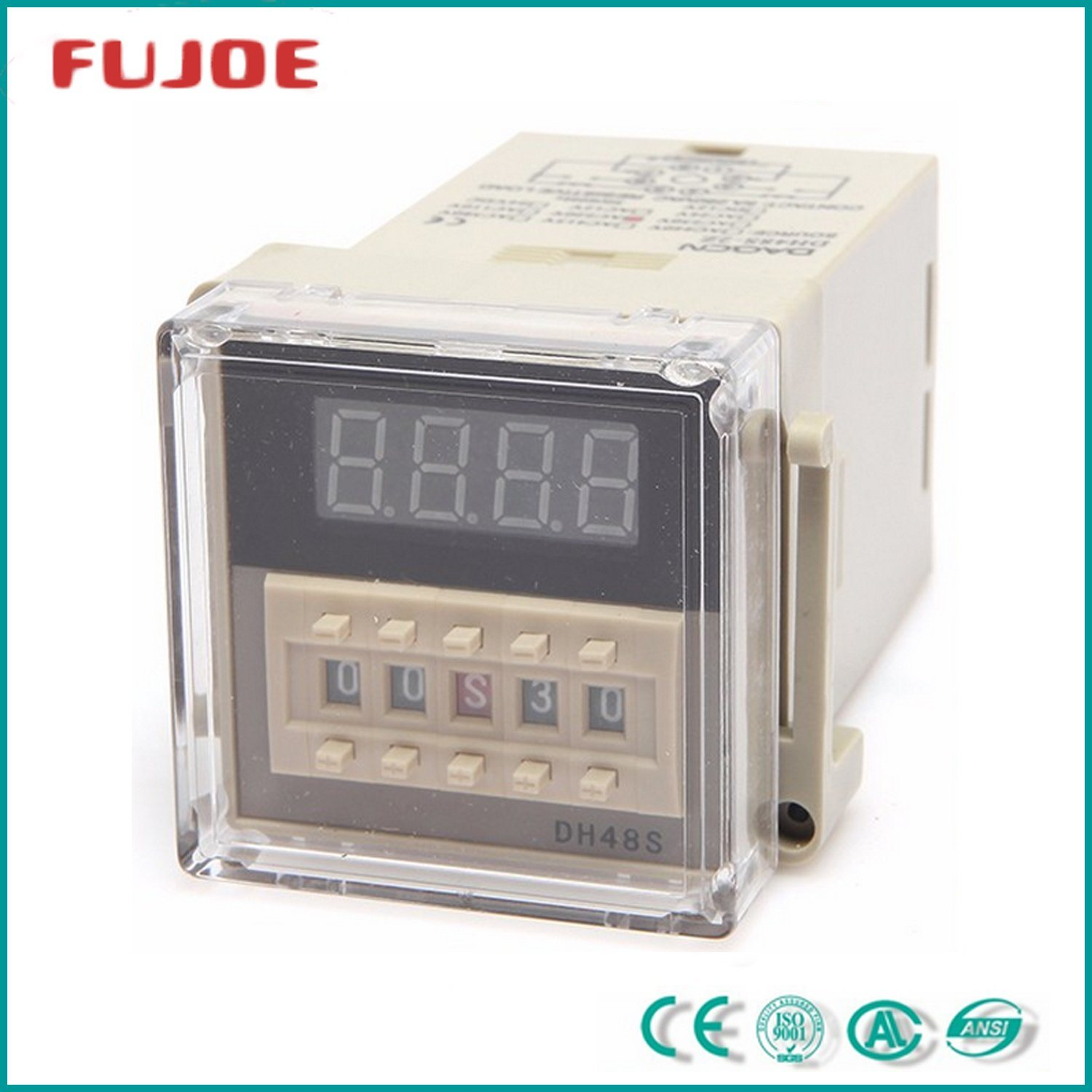 Time Relay Dh48s-1z 0-99.99999h Timing Range