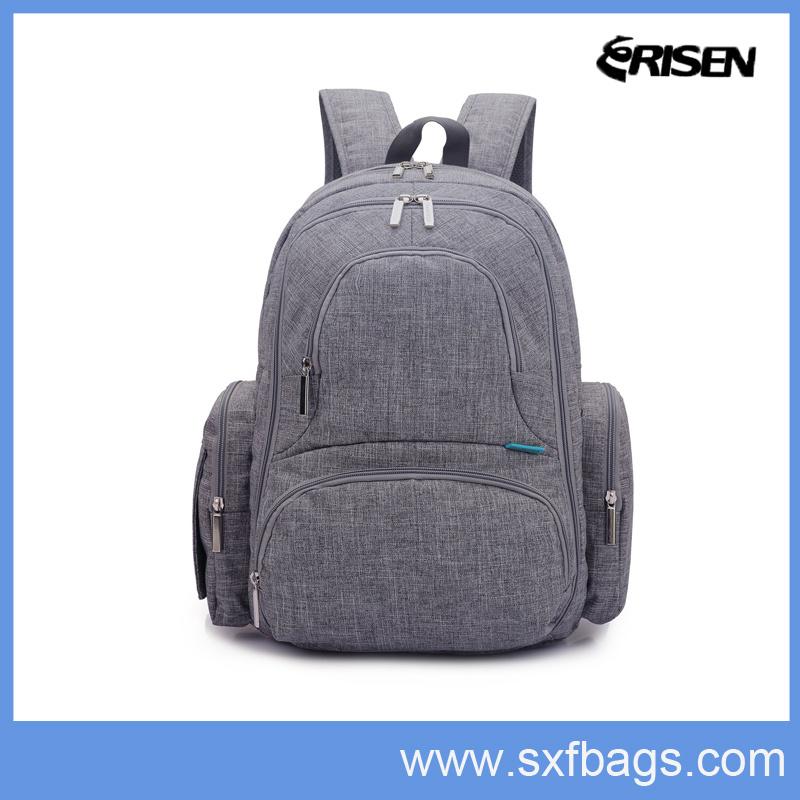 Large Capacity Multi-Function Mummy Diaper Backpack Bag