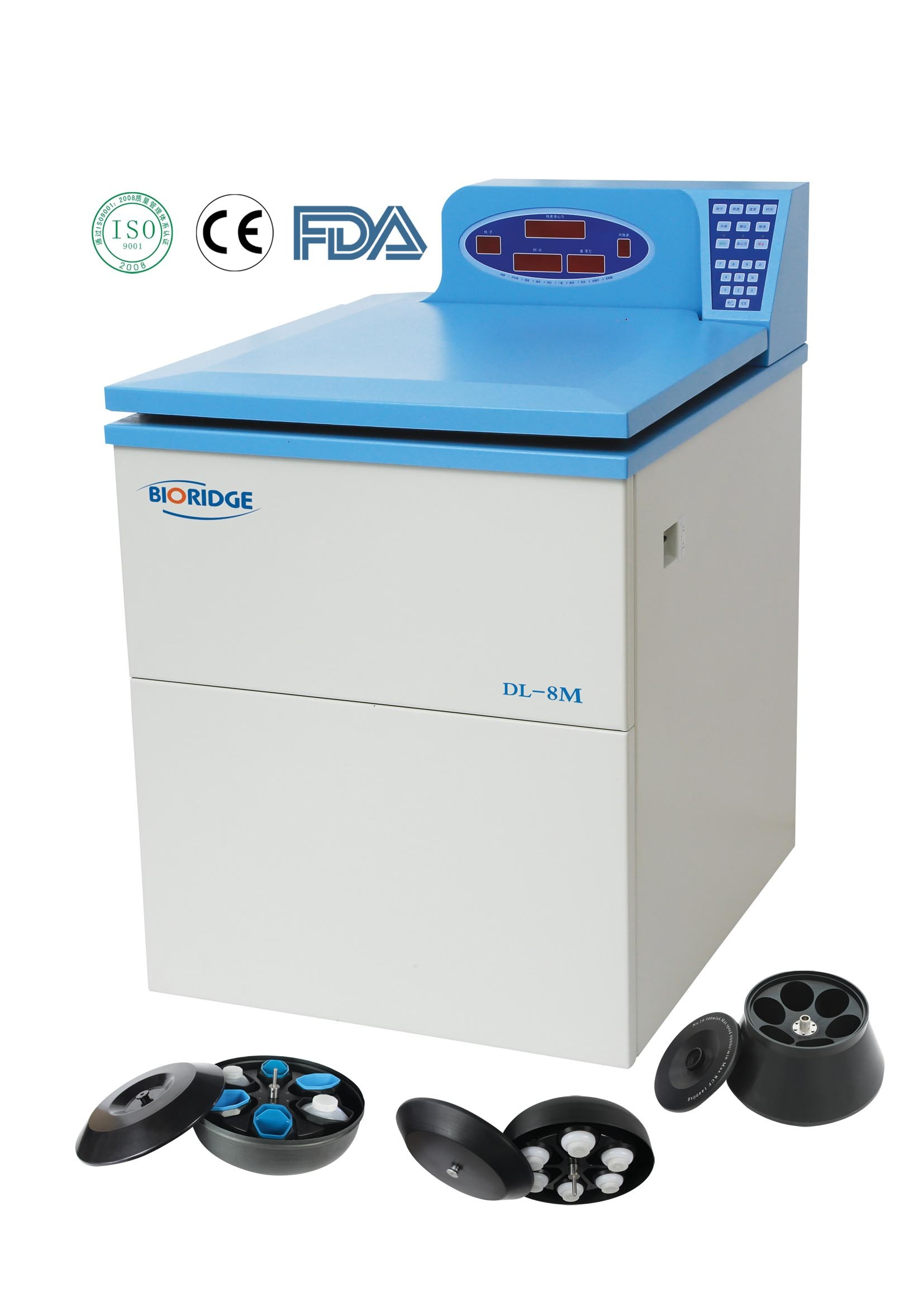 Ultra-Capacity Refrigerated Centrifuge (DL-8MS/DL-8M)