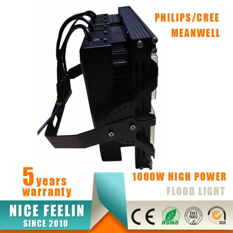 Meanwell Driver Small Size Light Weight 1000W CREE LED Floodlight