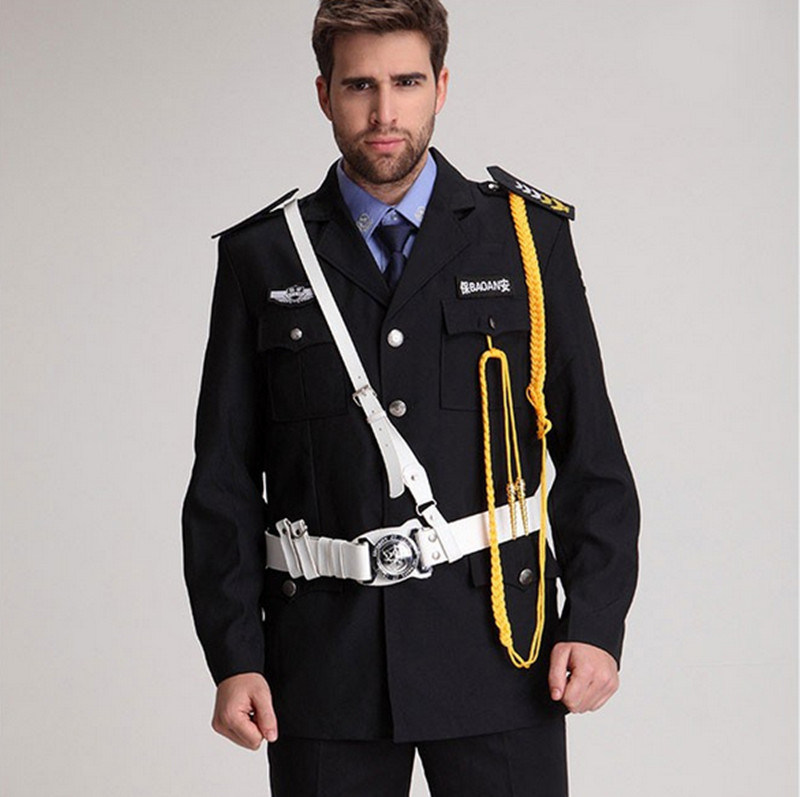 New Product Hot Sale fashion Design High Quality Security Guard Uniform