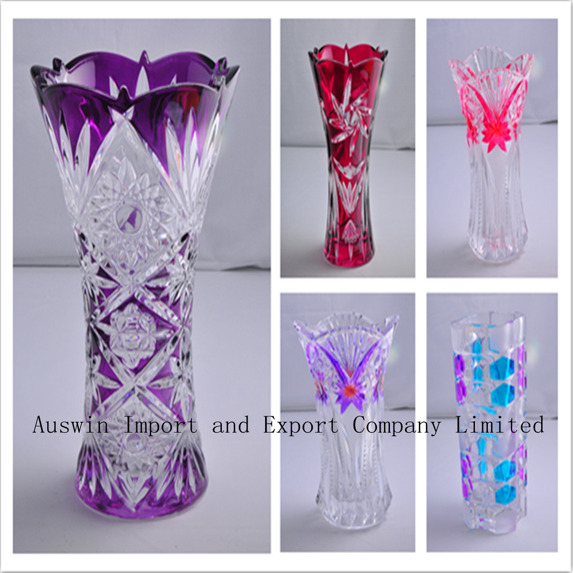 Italian Urn-Form Glass Vase :: Vases :: Crystal & Glass :: Beaux