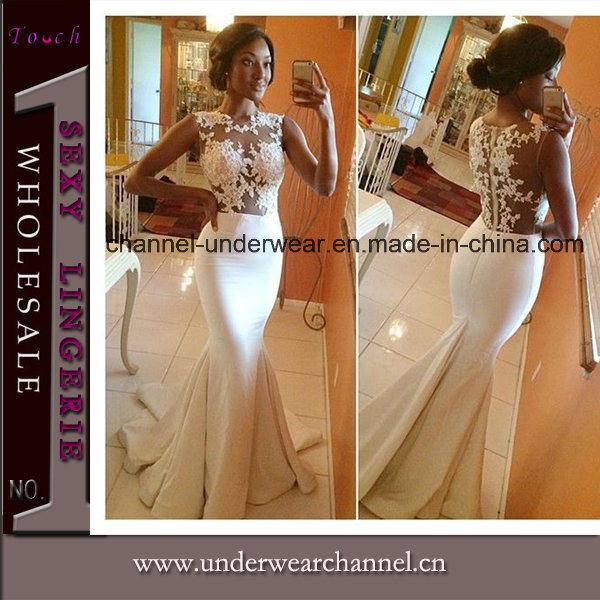 2017 Wholesale Women Celebrity Lace Evening Prom Dresses (TONY8048)