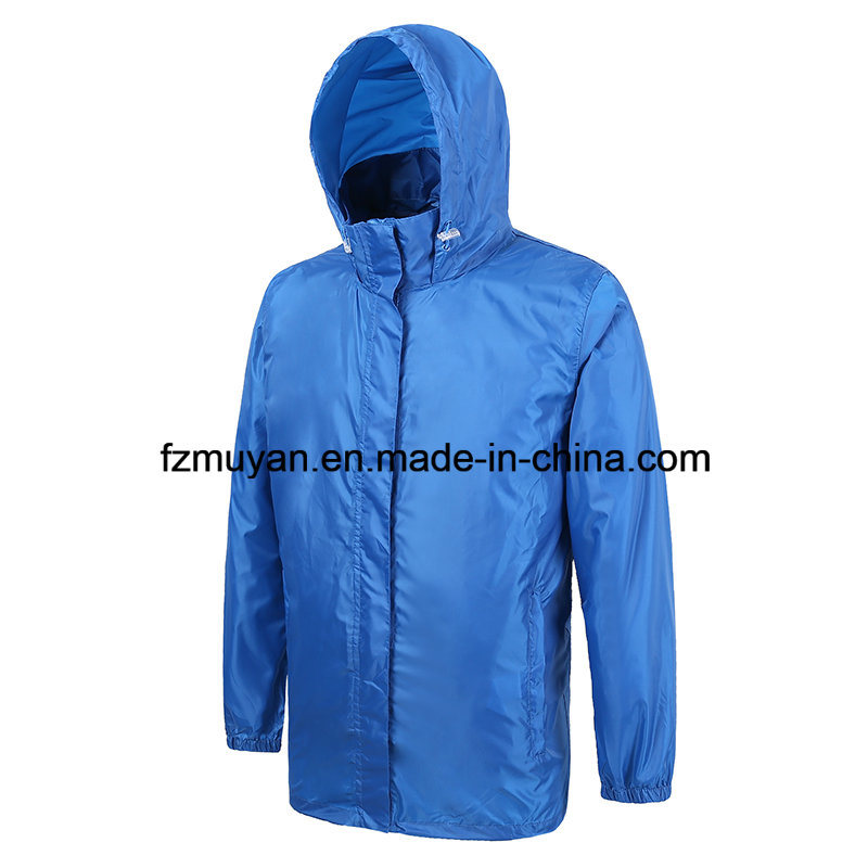 Soft Shell Waterproof Hooded Waterproof Coat