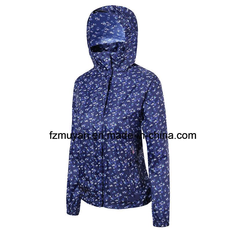 Thin Section Waterproof Coat Hooded Raincoat