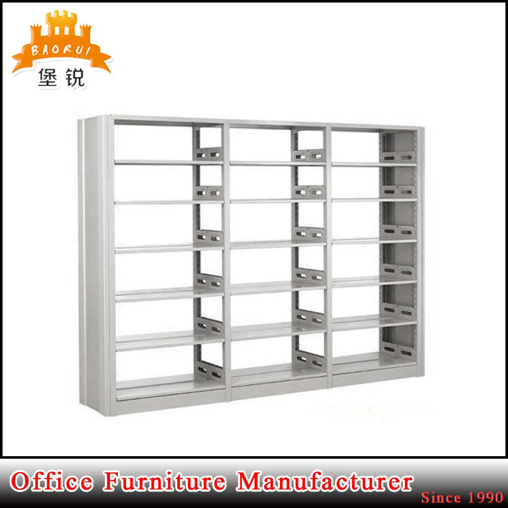 School Library Use Detachable Kd Packing Steel Bookcase with 6 Layers Shelf