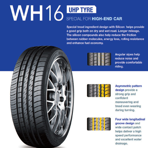 PCR Tyre, Passenger Car Tyre with ECE 185/55r15