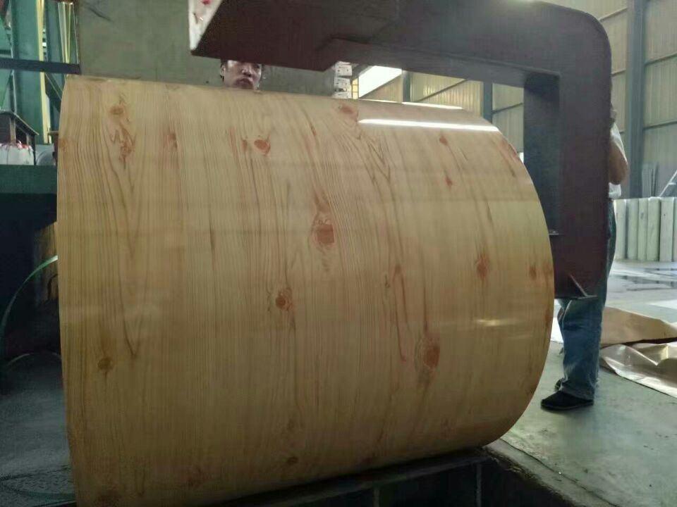 Prepainted Wood Pattern Steel Sheet, Wooden PPGI