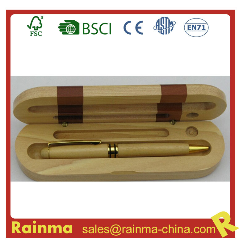 Metal Wooden Ball Pen in Wooden Gift Box