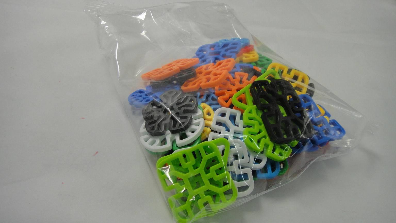 Geometry Snowflake Building Blocks Kids Toy