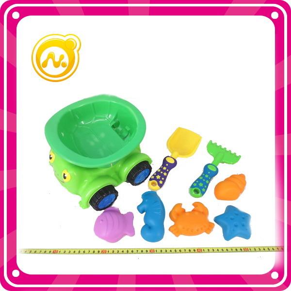 8PCS Plastic Toy Beach Car Set Summer Toy