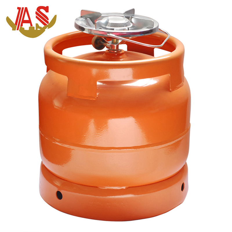 Gas Cylinder Nigeria LPG Cylinder with Camping Burner Steel Household