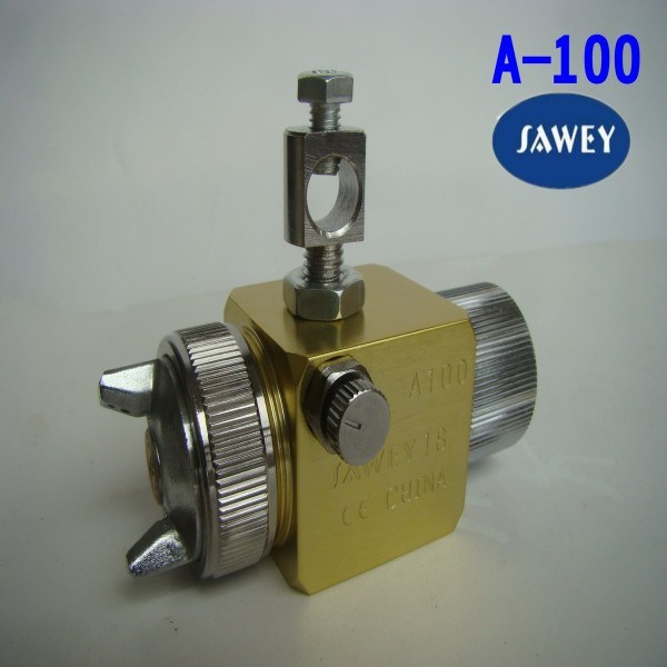 Sawey a-100 a-110 Automatic Spray Gun for Plastic Machine 0.5/0.8/1.0/1.3/2.0mm
