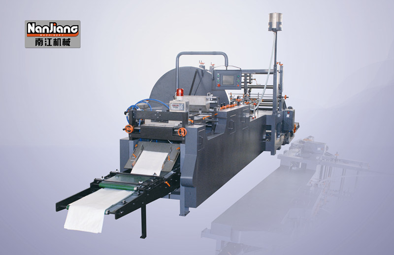 Flat and Satchel Paper Bag Machine with Window Wfd-600