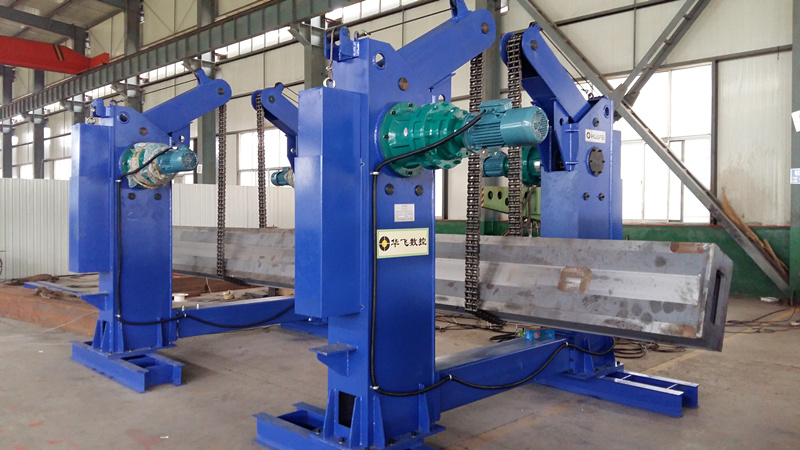 Jinan Huafei Chain Type Turning Over Machine