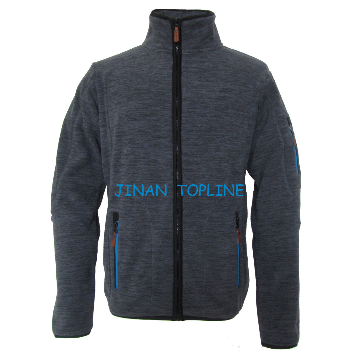 Men Cationic Dyed Polar Fleece Windproof Leisure Jacket