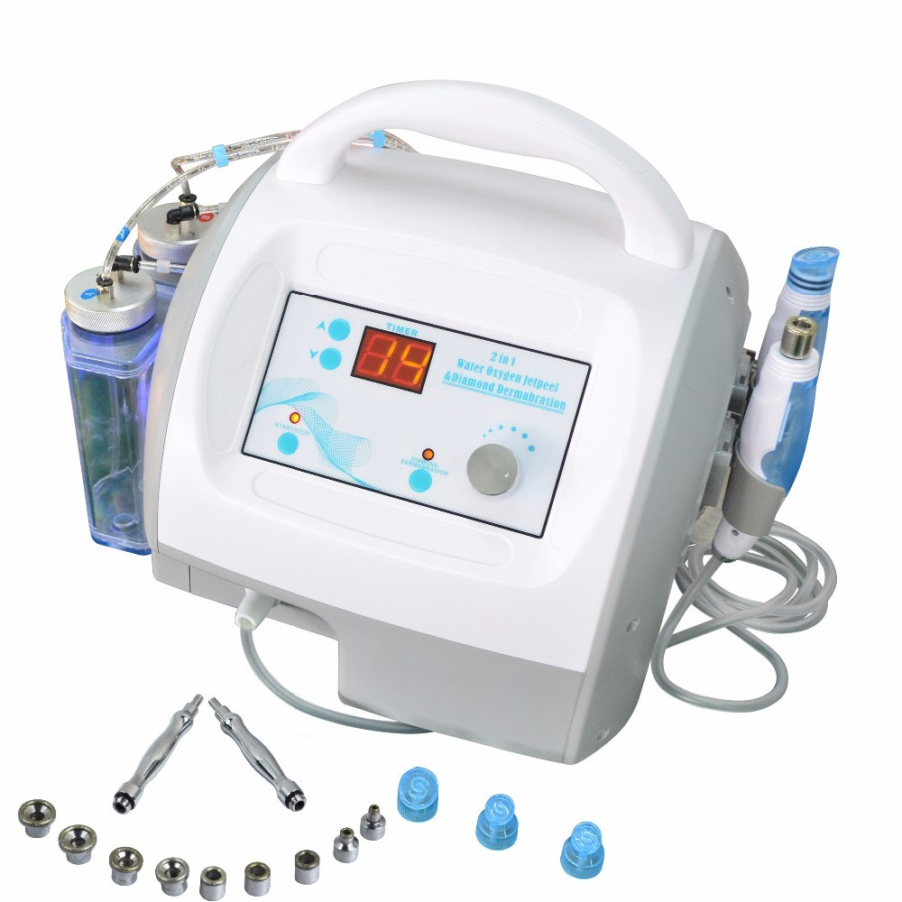 Whosale Facial Lifting Ultrasonic Skin Tighten Micro Current Face Care Beauty Equipment with Demabration