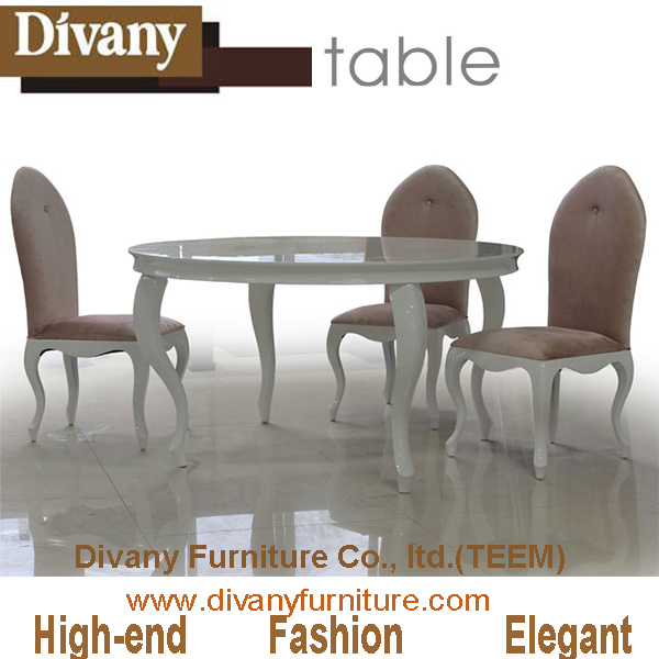 Ls-214 Dining Room Furniture for Round Table and Chairs