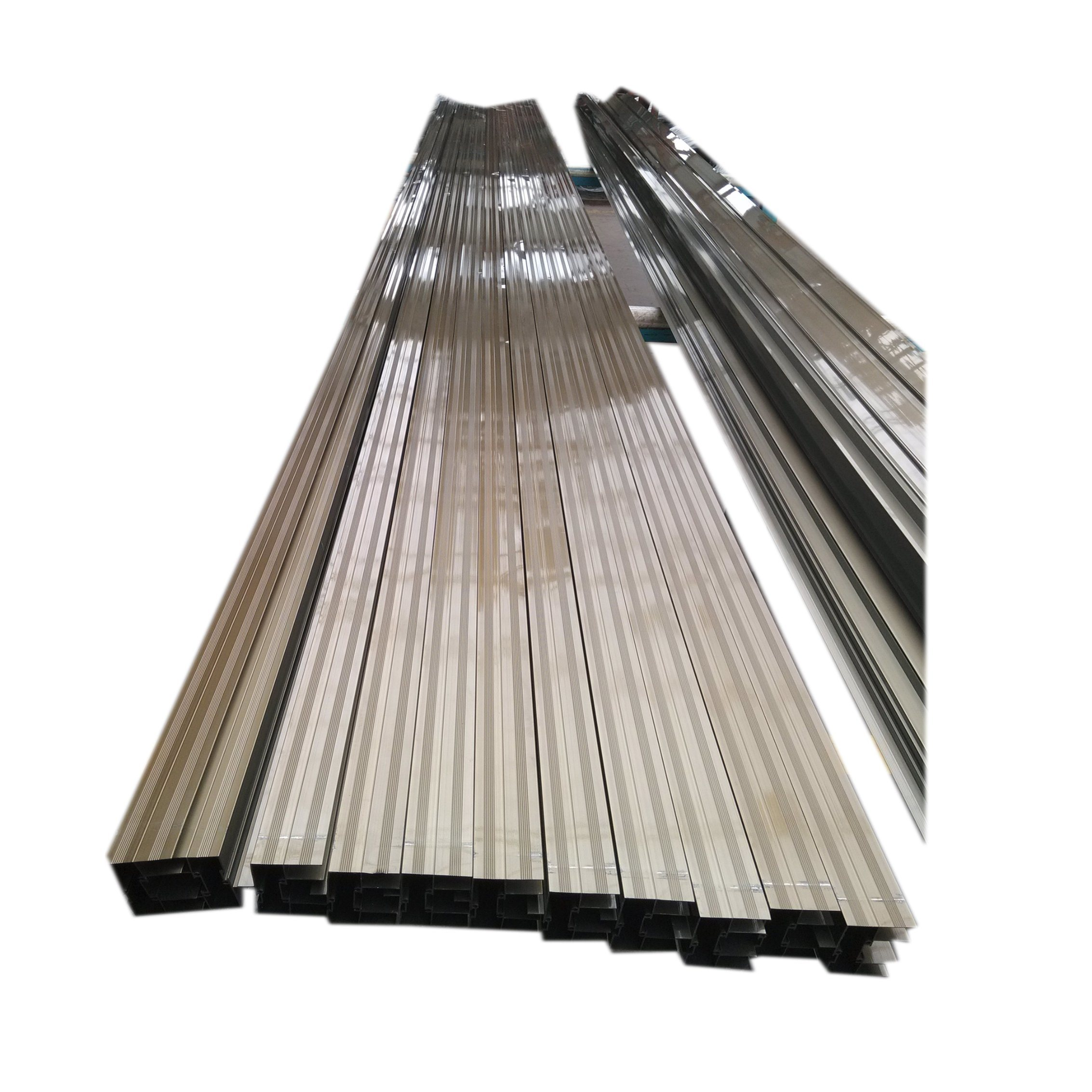 Electrophoretic Champange Aluminium Extrusion Profile Aluminum Profile for Window Door Industry