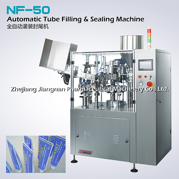 Automatic Tube Filling and Sealing Machine (NF-50)