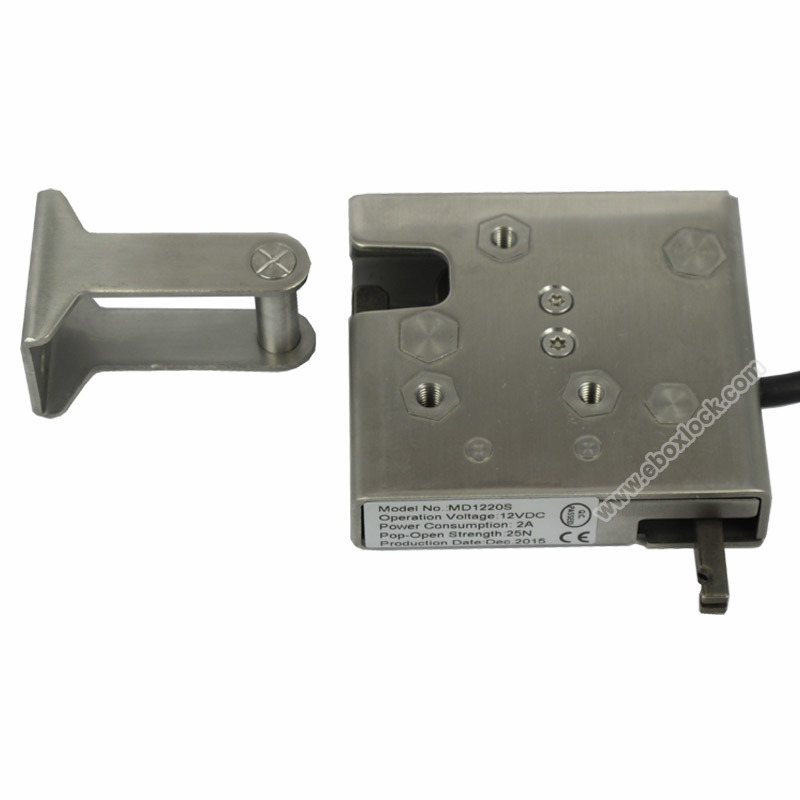 Stainless Steel Electronic Cabinet Lock with Reporting for Electronic Lockers