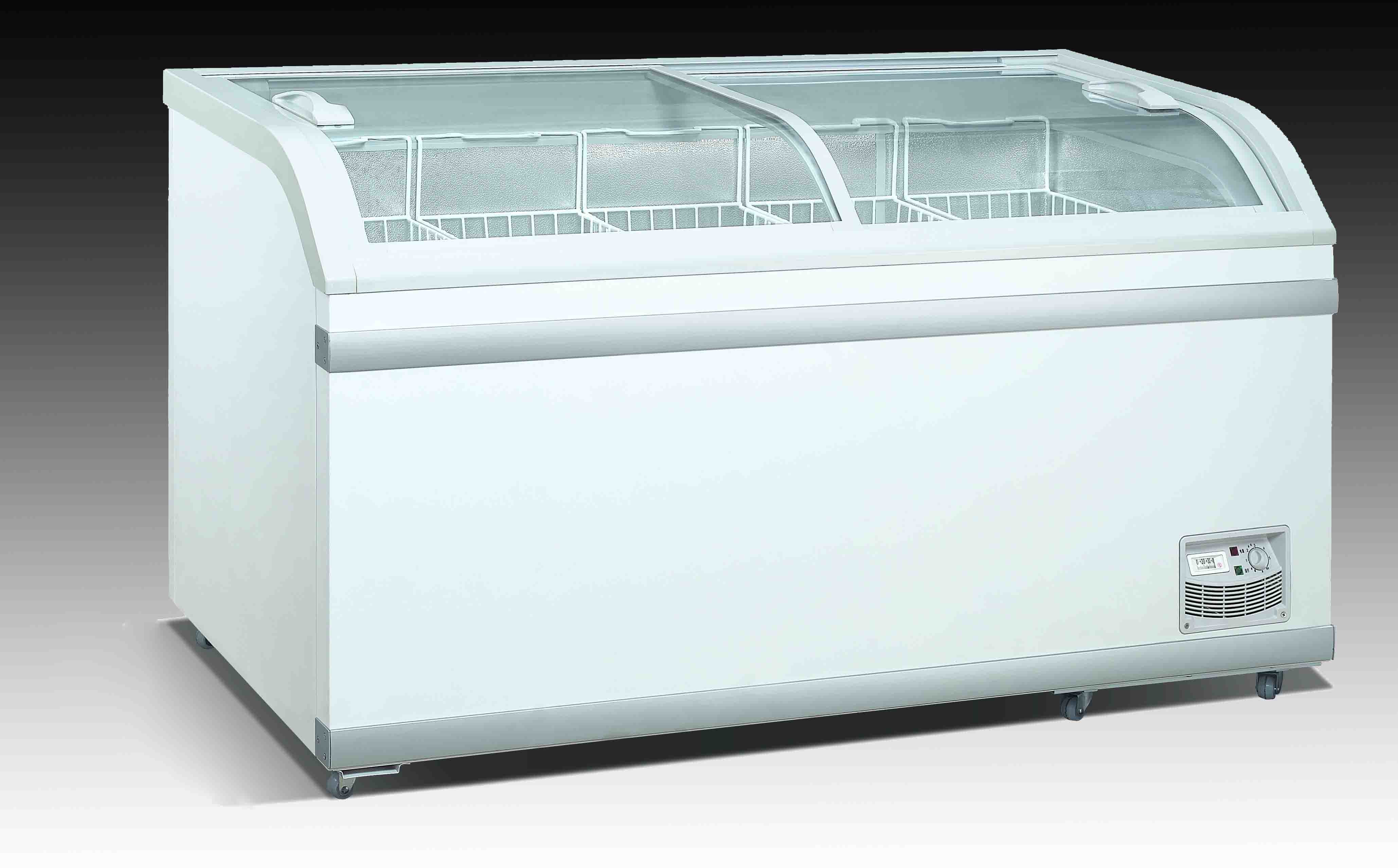 China Top Glass Door Freezer Sd 750y China Chest