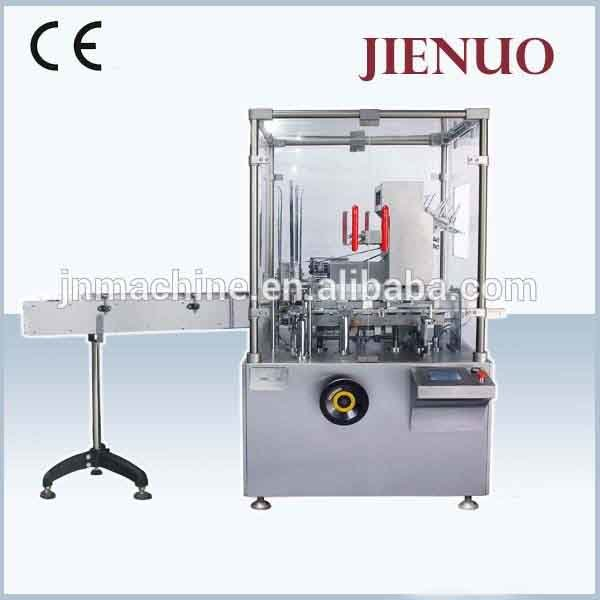 High Speed Multifunctional Vertical Box Packing Sealing Tube Automatic Cartoning Machine