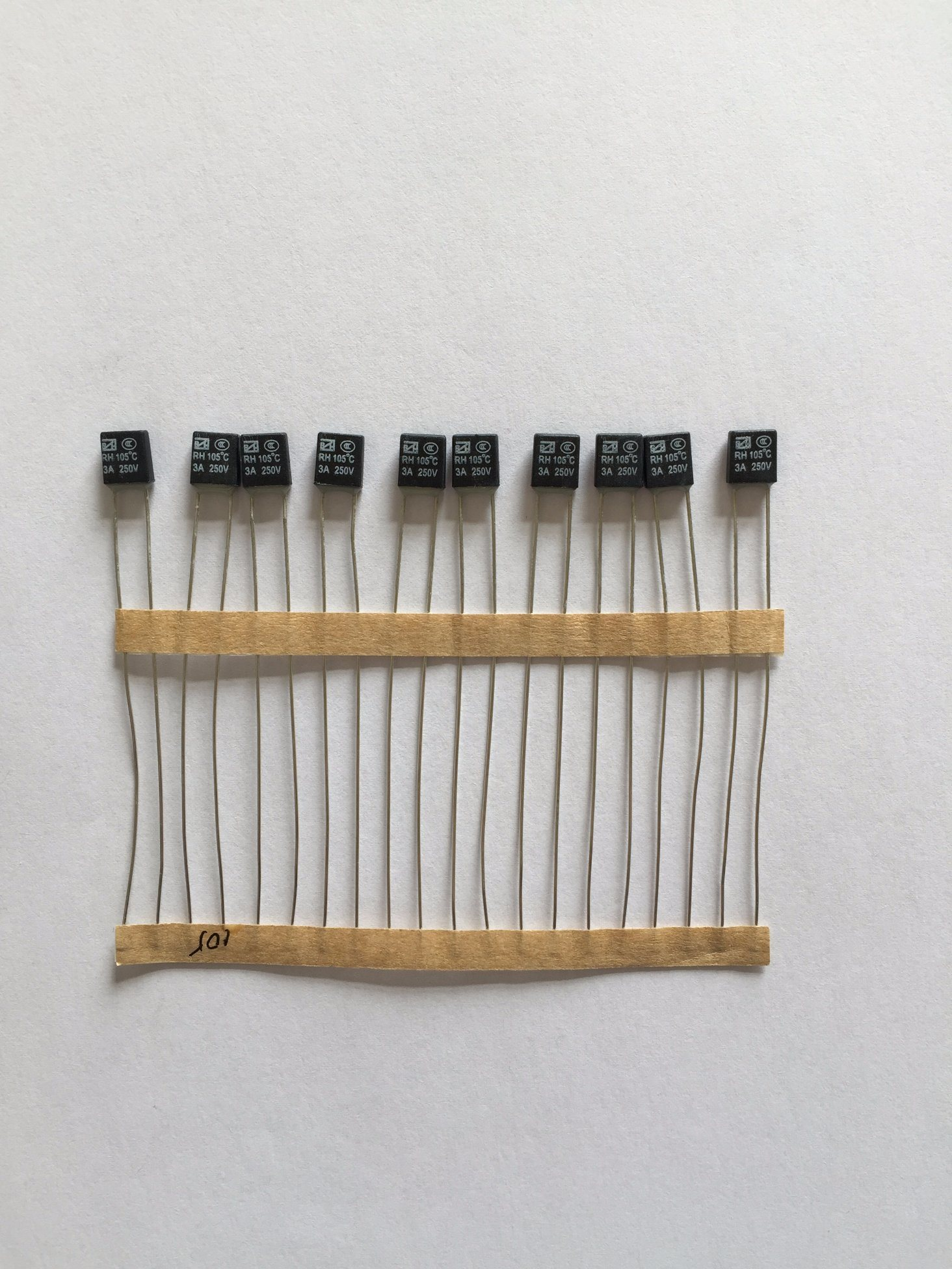 High Quality Ceramic Type Thermal Cutoff Fuse