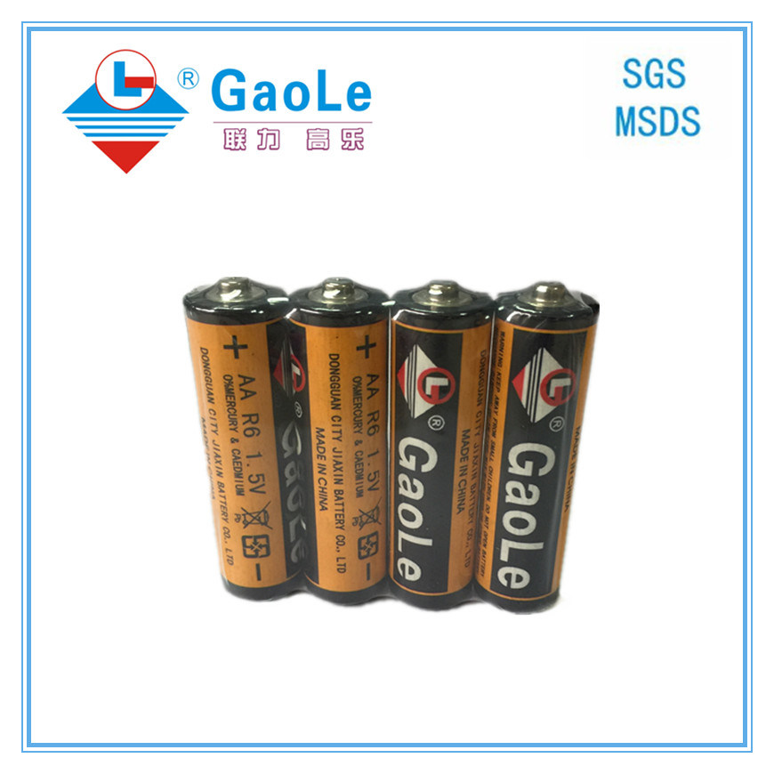 AA 1.5V Super Heavy Duty Carbon Dry Battery of Real Image