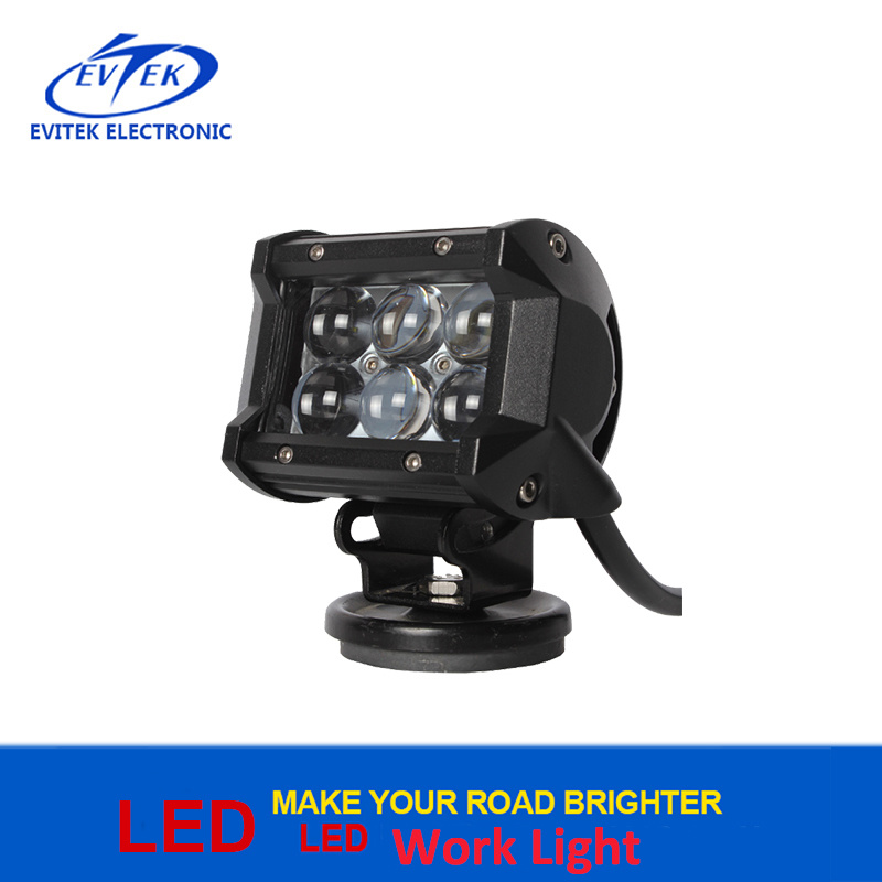 CREE Chip 4D Lens 4 Inch 18W Waterproof Truck Mounted Work Light LED Work Lamp