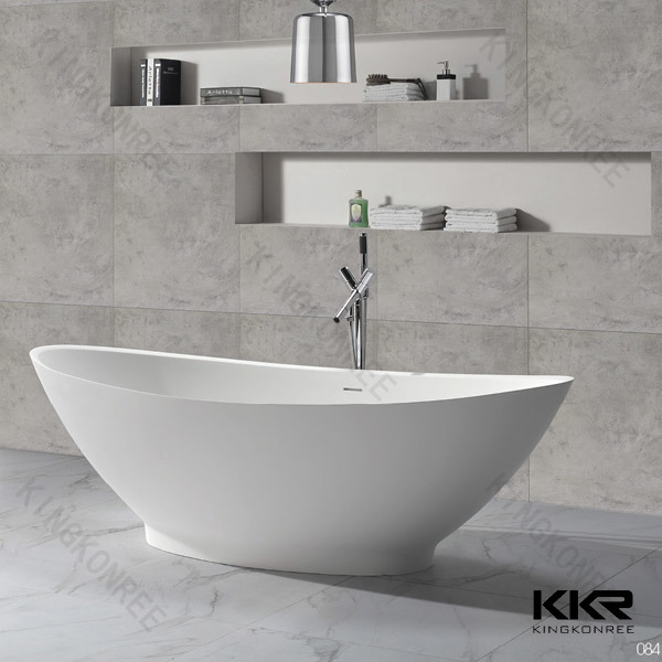 Kkr Wholesale Solid Surface Freestanding Bathtub