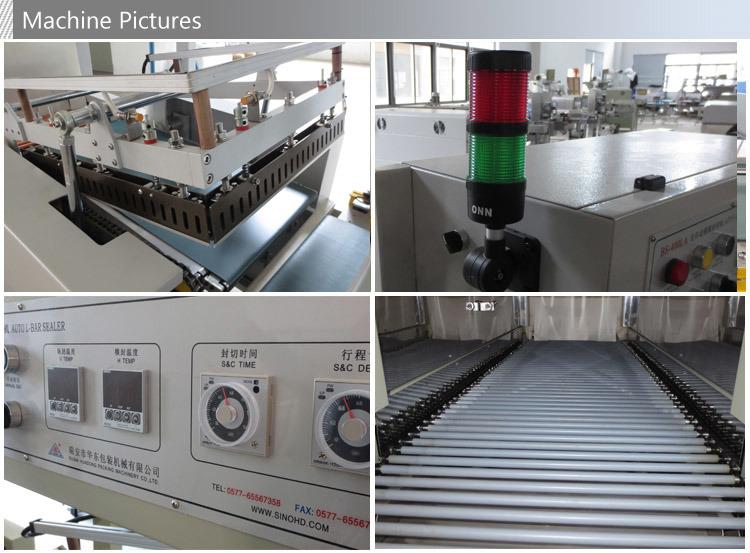 Automatic POF Heat Shrink Film Packing Machine