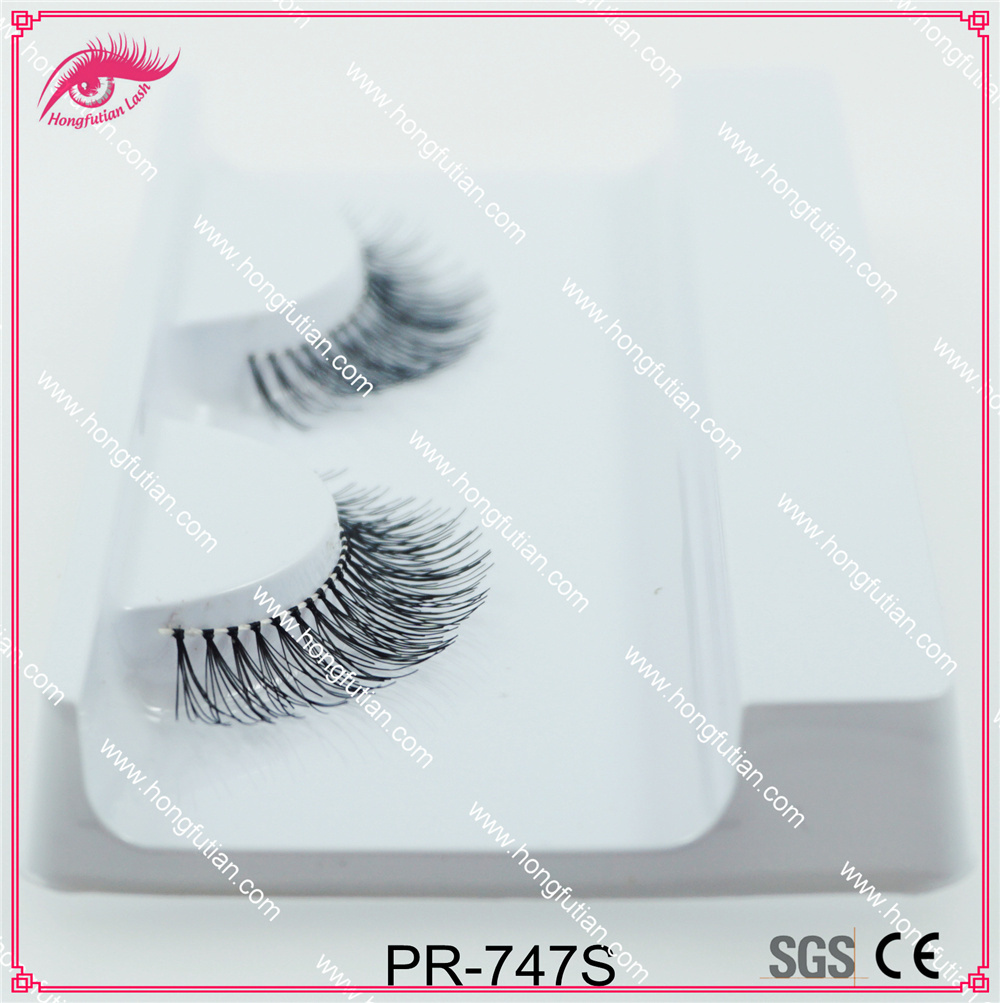 Handmade Human Hair Eyelashes Private Label Lashes