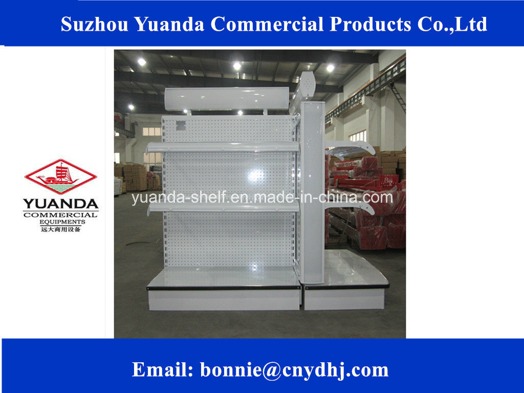 Flat Panel Supermarket Display Rack/Shelf/Gondola Supplier