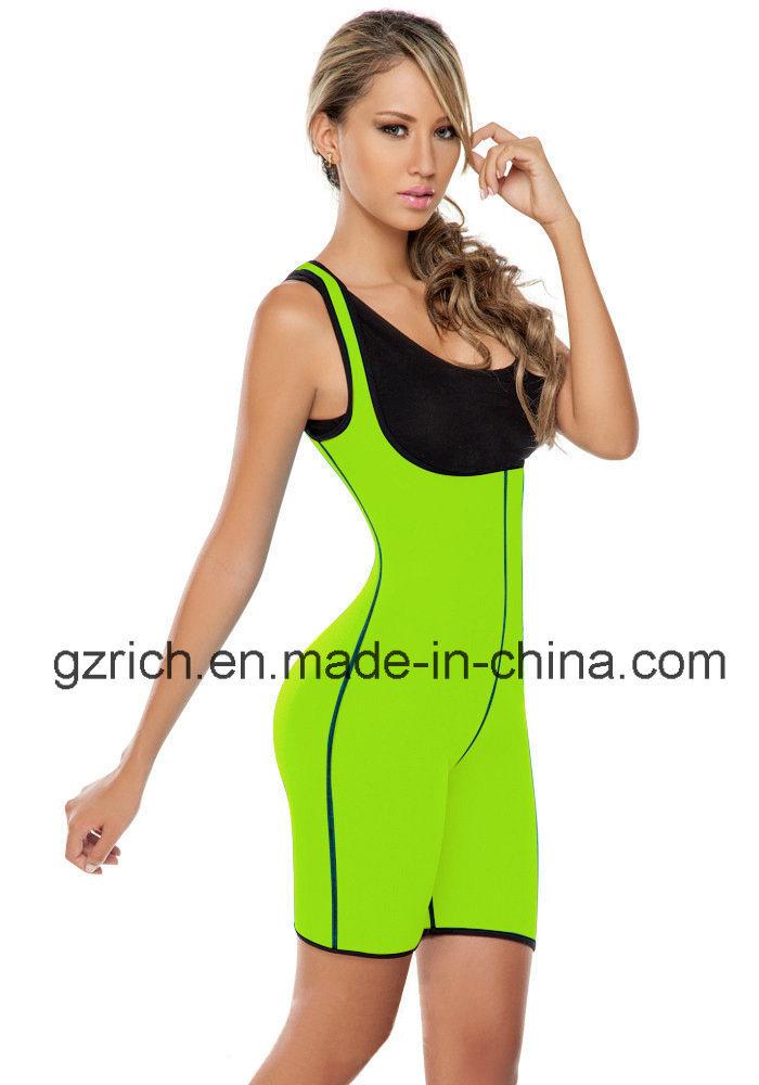 Neoprene Ultra Sweat Bodysuit Both Side Wear Shapewear